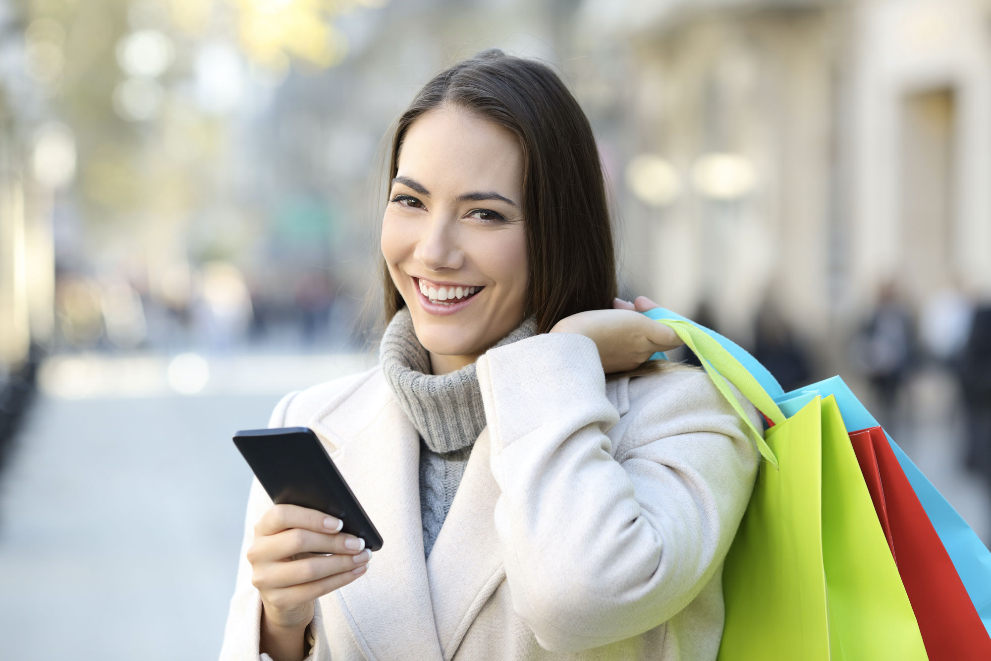 shopping digital sms